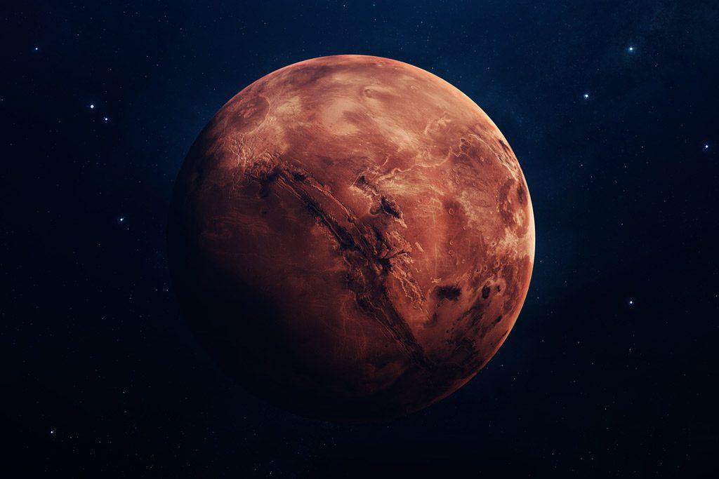 marte planeta rojo significado