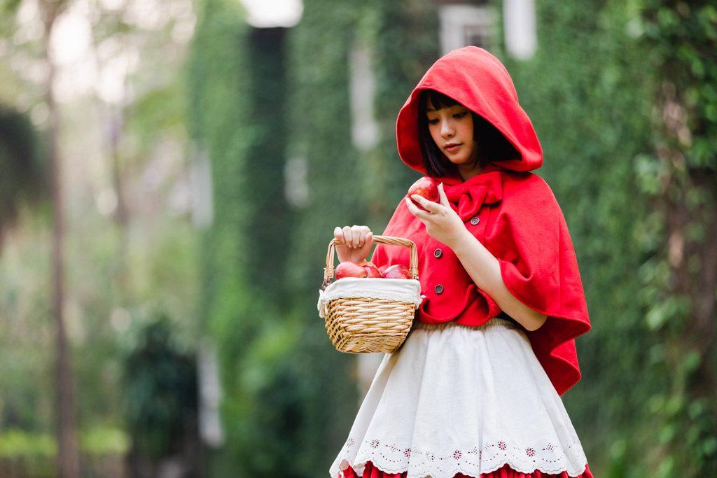 Psicología del color significado rojo en los cuentos caperucita roja