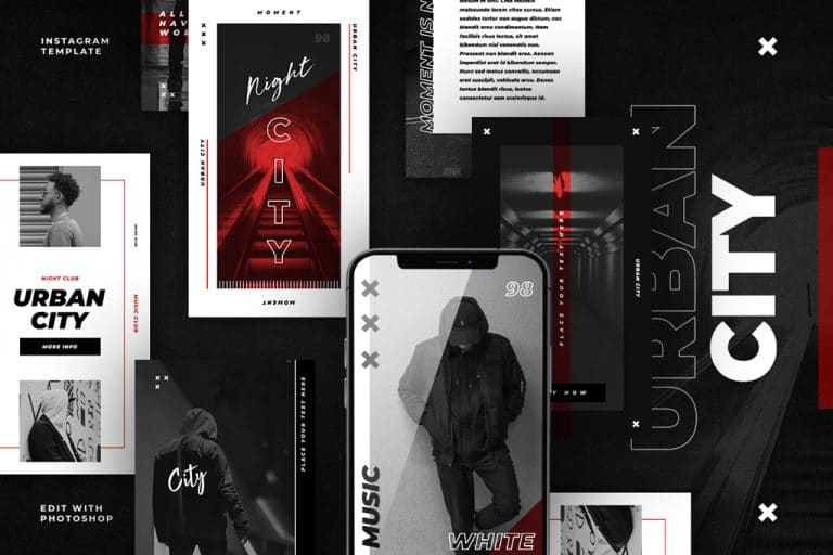 urban city instagram stories templates social media richi perez