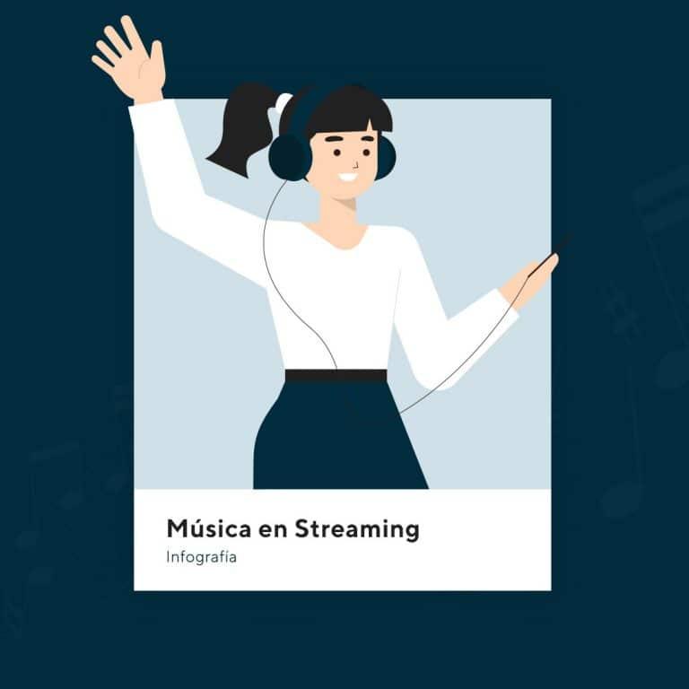 infografia musica en streaming richi perez