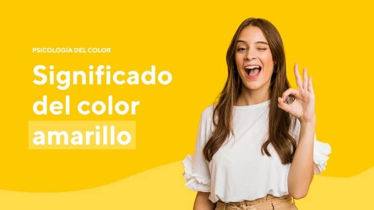 Psicología del color significado amarillo