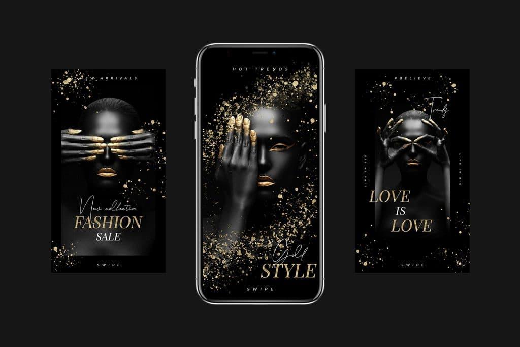 animated-instagram-stories-luxury-gold-richi-perez