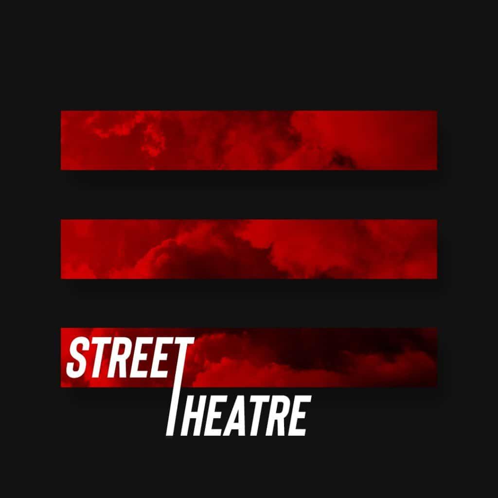 sala street theatre logo rojo negro